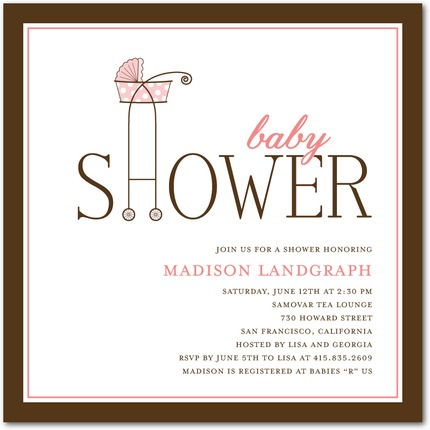 Superior Baby Shower Invites Simple