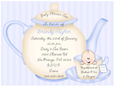 Tea party baby shower invitations dolanpedia invitations template tea party baby shower invitations 3 filmwisefo