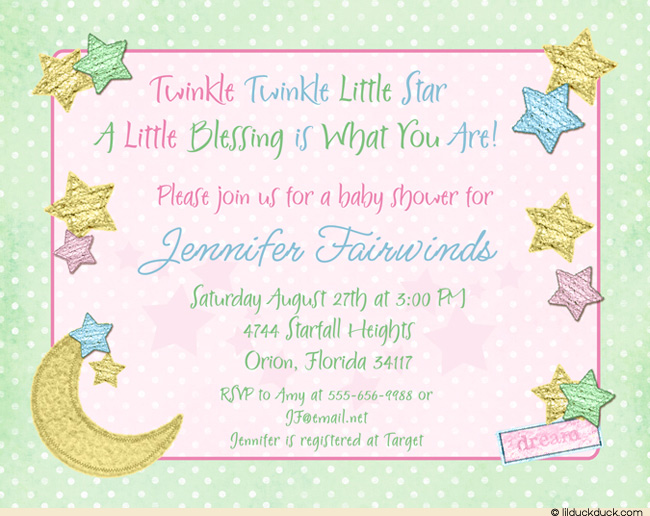 baby shower invitation example Intoanysearchco