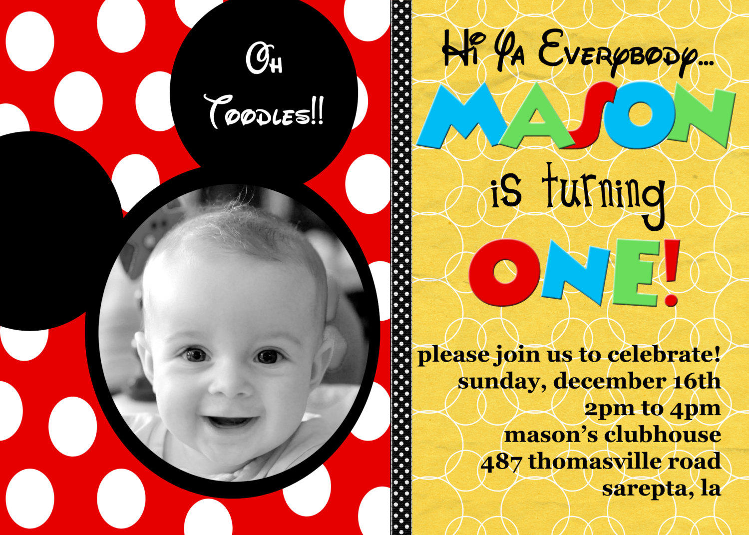 Mickey mouse 1st birthday invitation dolanpedia invitations template mickey mouse invitations ts86yctz filmwisefo