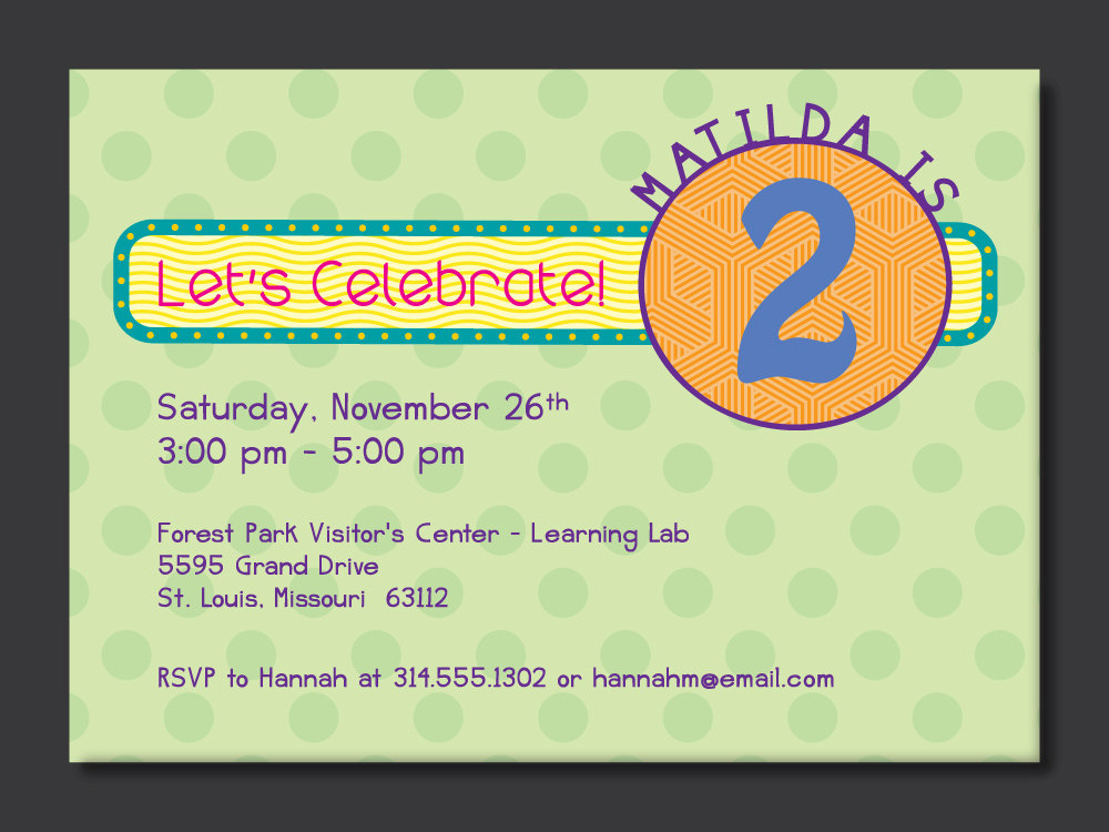 2nd Birthday Invitation Wording Samples | | DolanPedia Invitations ...