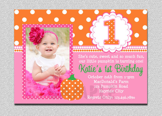 Baby Girl First You Should Design Your Birthday Invitation Wording