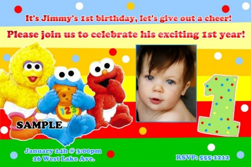 If You Have A Son I Will Give And Idea About How To Make Sesame Street Themed Birthday Party