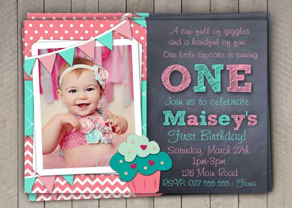 First birthday party invitations girl dolanpedia invitations baby girl first1 first birthday and baptism1 filmwisefo