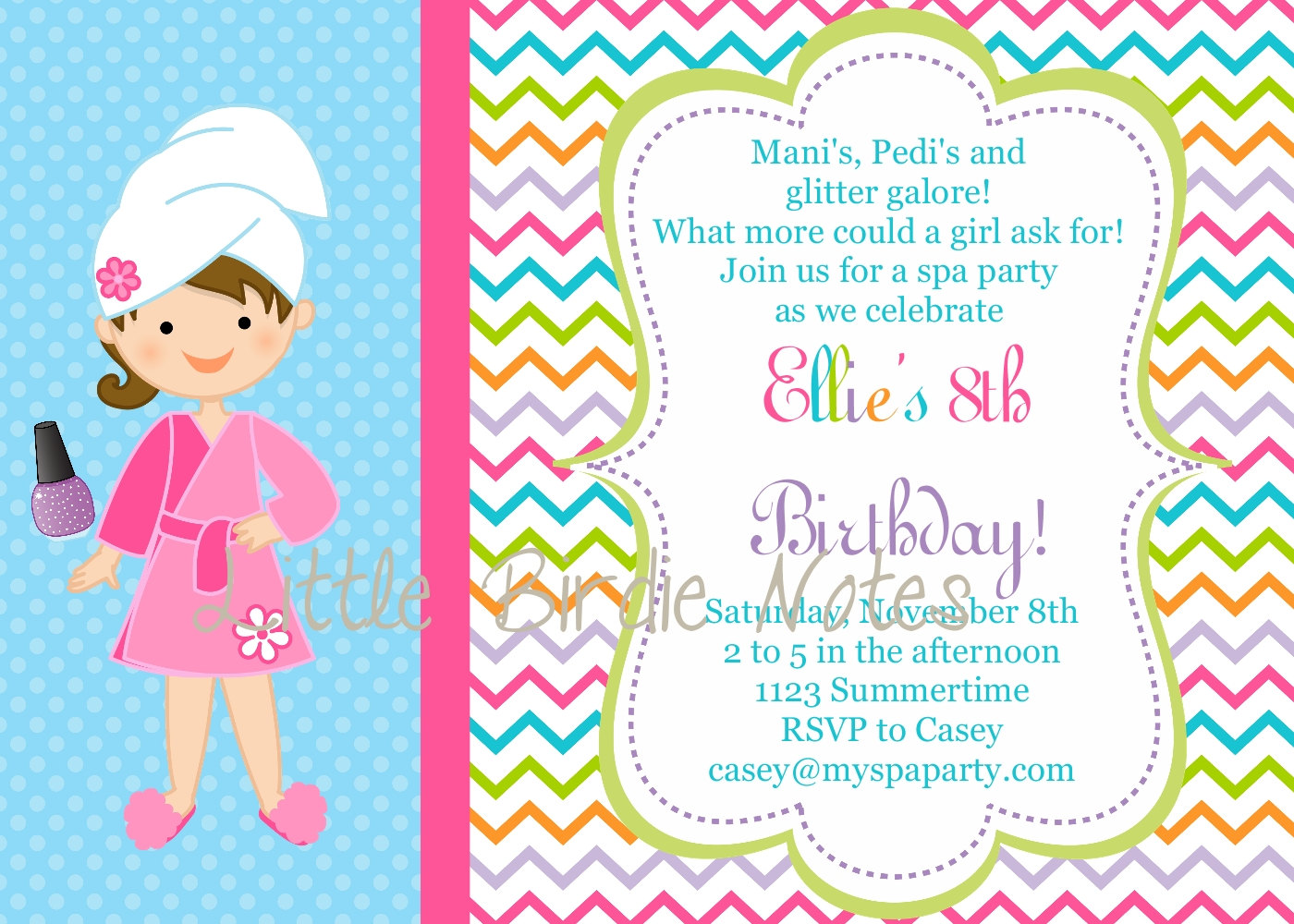 Free printable spa birthday party invitations dolanpedia thats all for the spa birthday ideas good luck preparing your party filmwisefo
