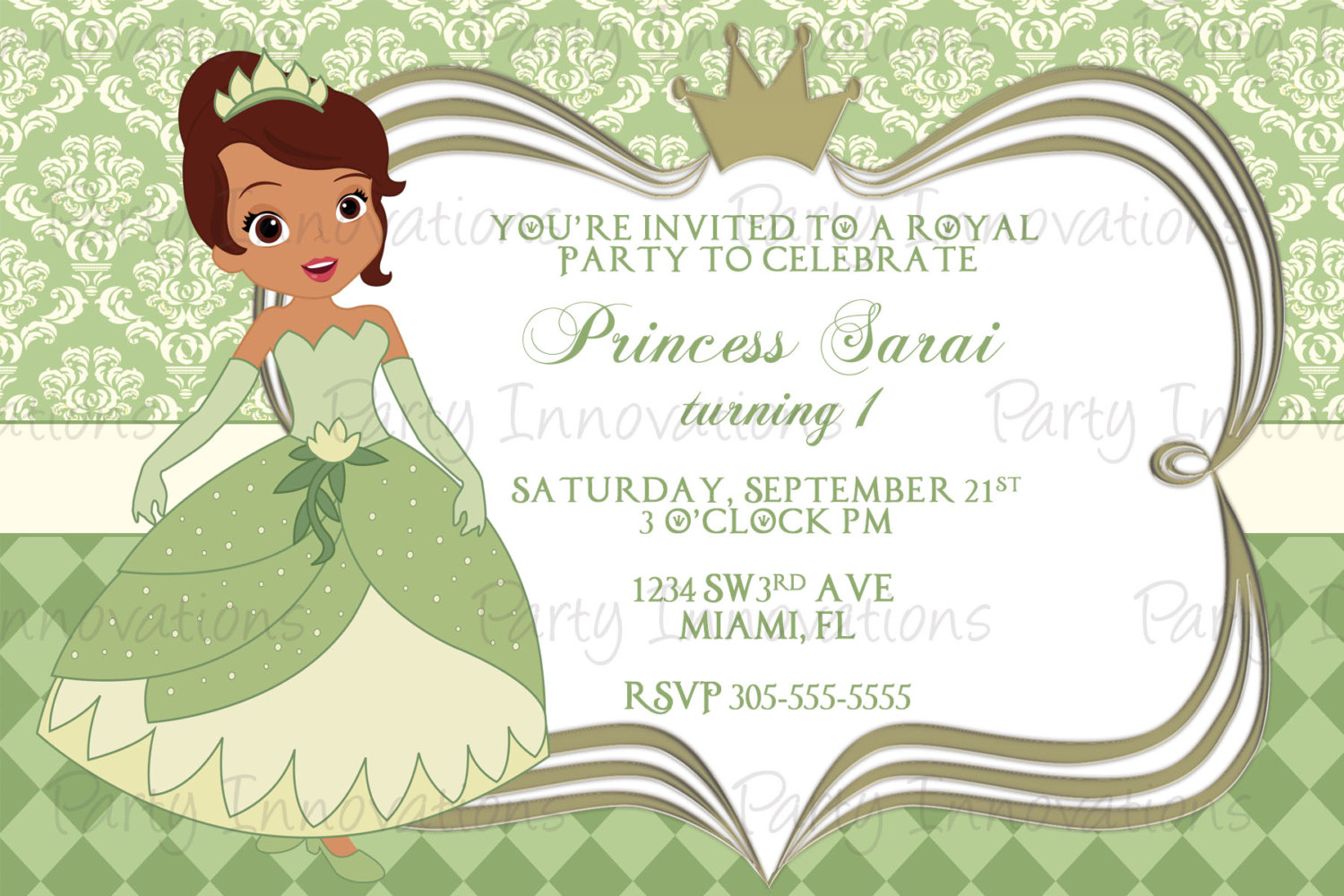 Frog Wedding Invitations: Princess And The Frog Birthday Invitations
