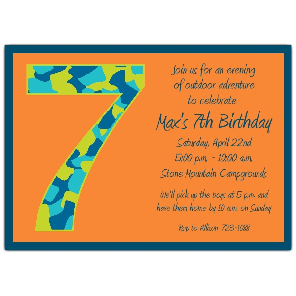 Birthday invitation write up