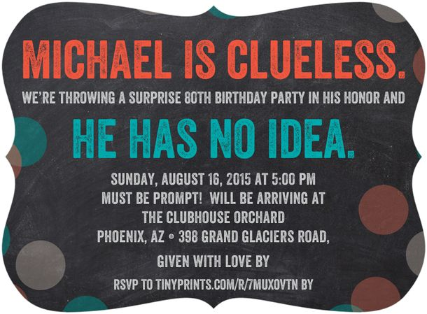 surprise 80th birthday party invitation