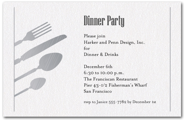 Birthday Dinner Party Invitation Wording Dolanpedia Invitations Formal Text
