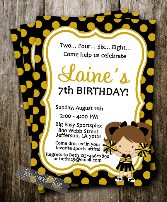 Orleans Saints Themed Birthday Party Ideas New Orleans3