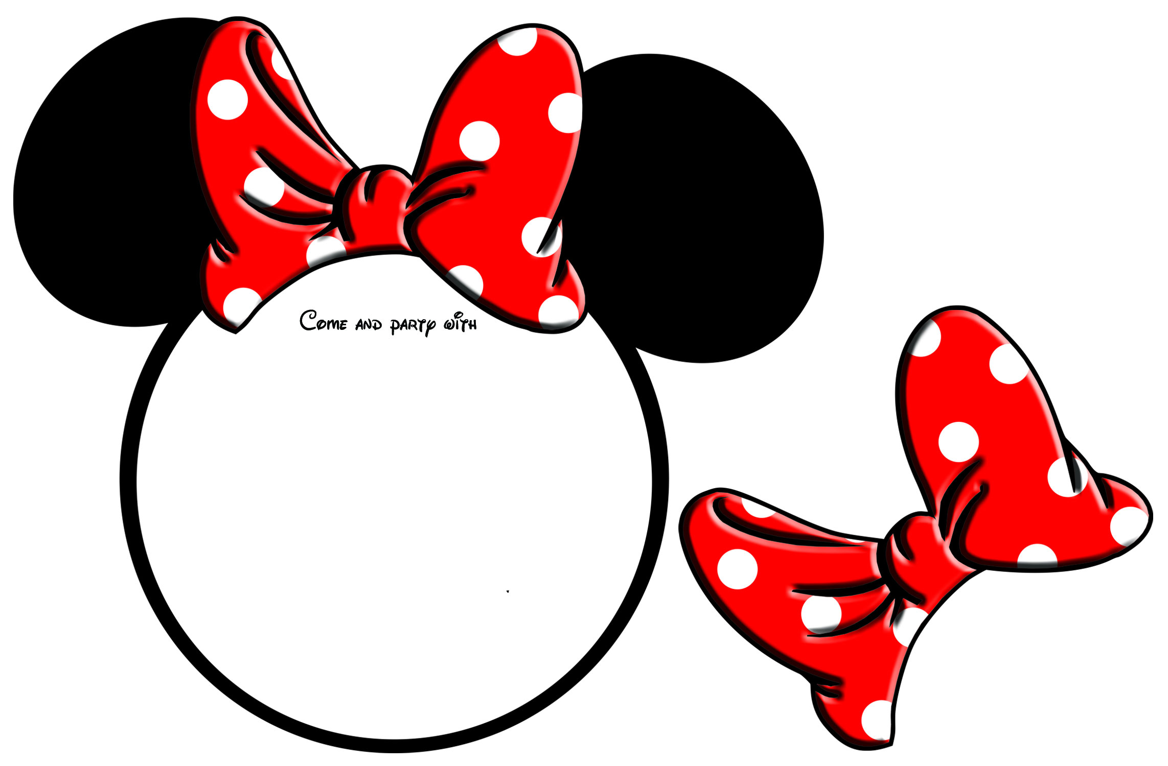 Minnie Mouse Printable Www Pixshark Com Images