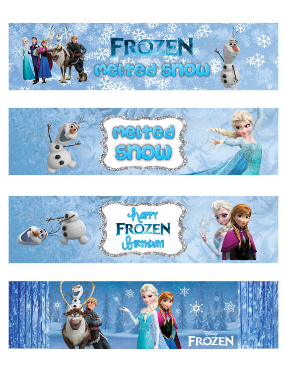Crush image intended for frozen printable labels