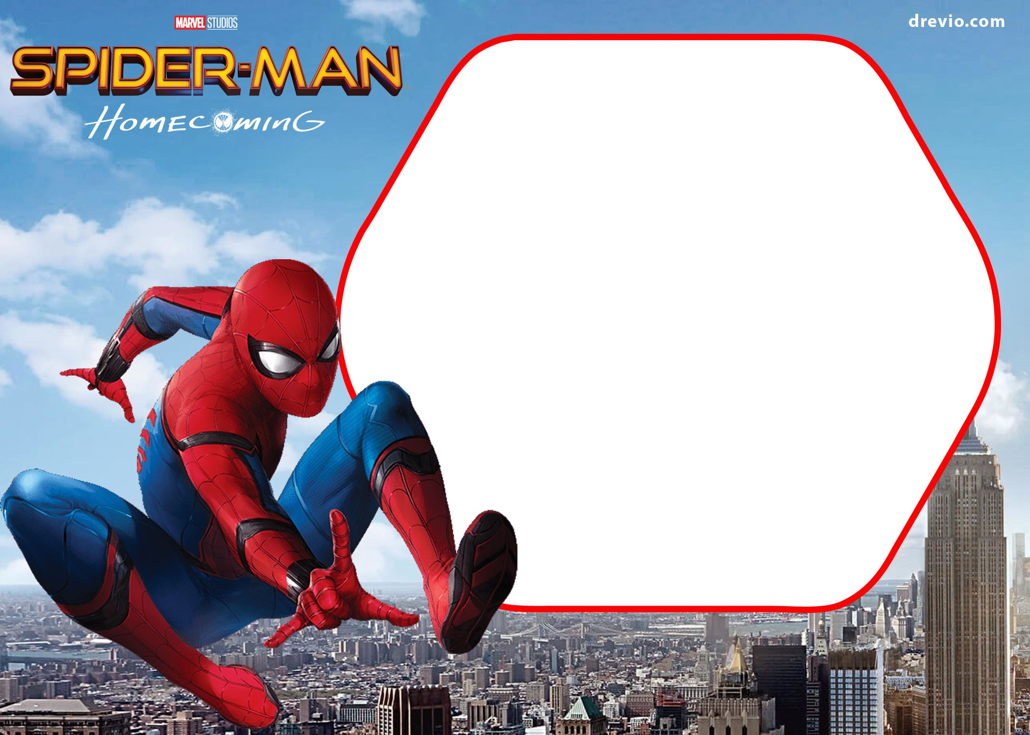 graphic about Printable Spiderman Invitations called Birthday Invitation Template Spiderman Inspirationalnew