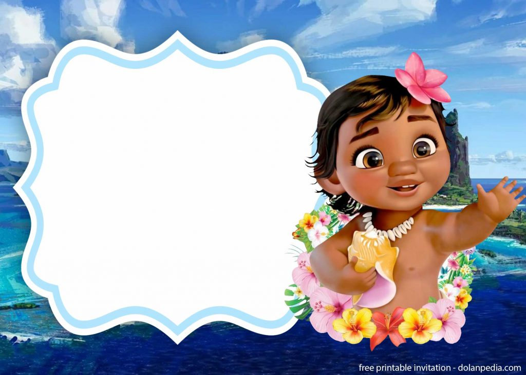 FREE Printable Moana Invitation Templates | | DolanPedia ...