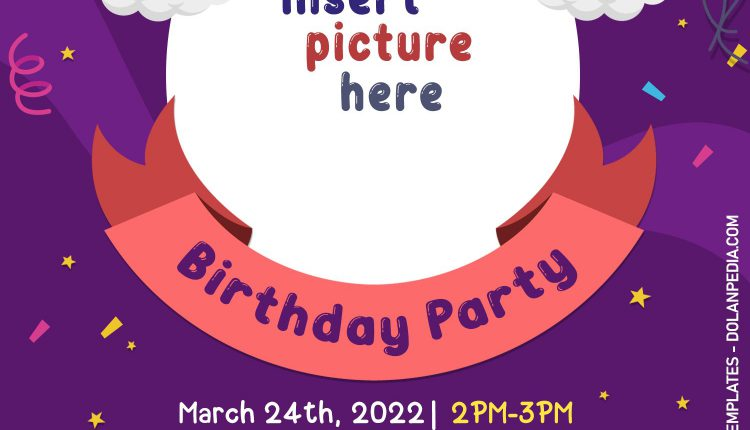 10+ Children Birthday Invitation Templates For Free