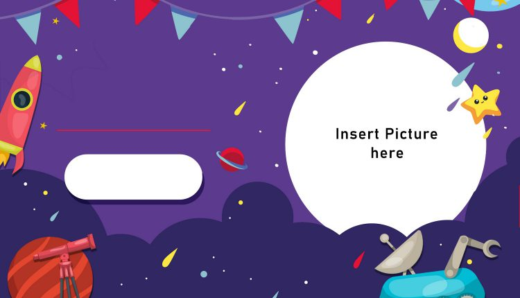 11+ Space Galaxy Birthday Invitation Templates