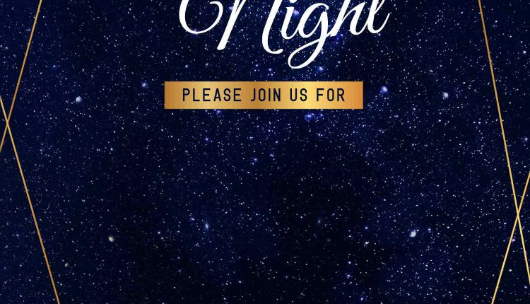 8+ Gorgeous Night Full Of Stars Themed Birthday Invitation Templates